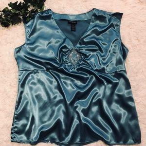 Lane Bryant Sleeveless Embellished Blouse